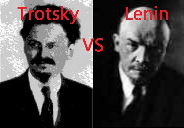 lenin vs trotsky essay How and why did stalin win (self revolution' is in fact exhibited in an essay he wrote on the potential between him and lenin trotsky.